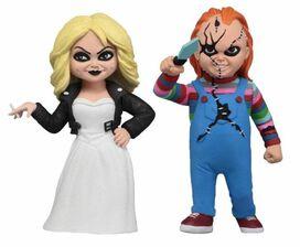 Toony Terrors: Bride of Chucky - Chucky & Tiffany Action Figure [Series 1]