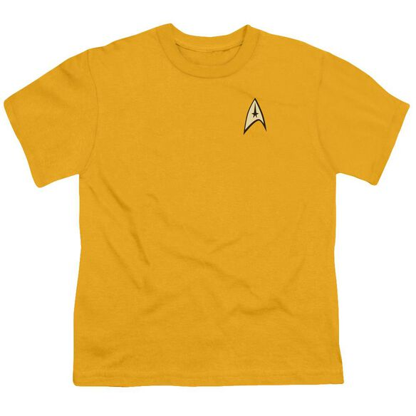 Star Trek Command Uniform Short Sleeve Youth T-Shirt