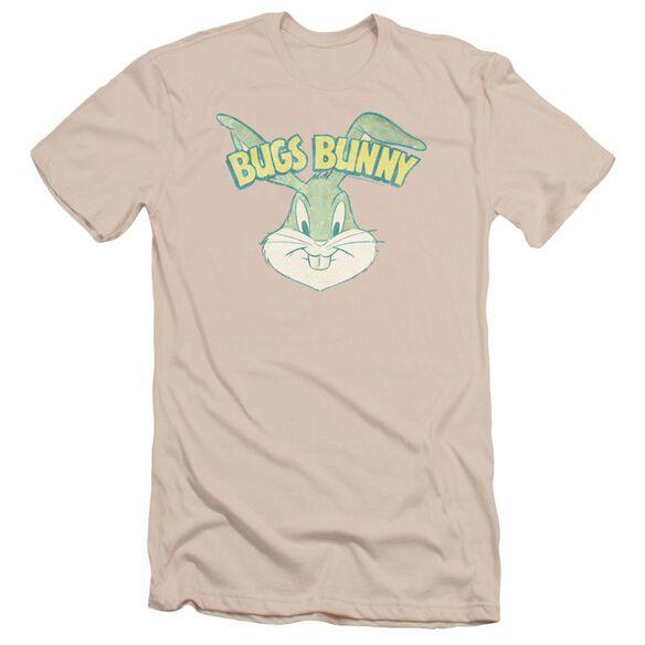 Looney Tunes Bugs Head Short Sleeve Adult T-Shirt