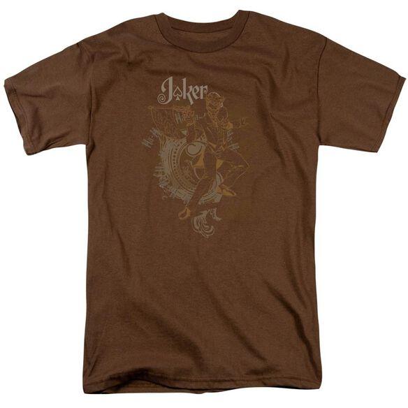 Batman Joker Explosion Short Sleeve Adult T-Shirt