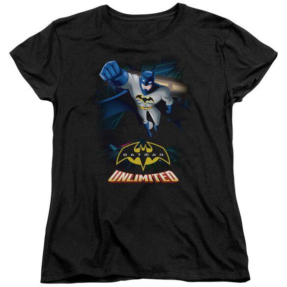 Batman Unlimited Descent Short Sleeve Womens Tee T-Shirt