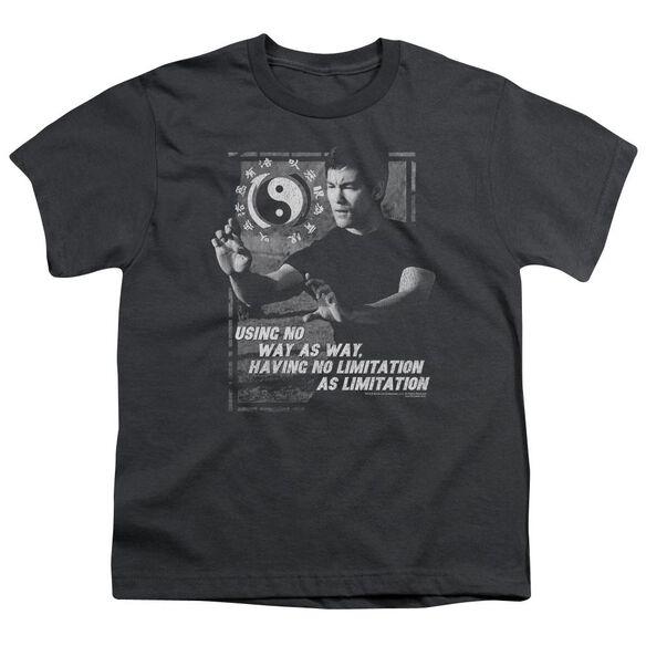 Bruce Lee No Way As A Way Short Sleeve Youth T-Shirt