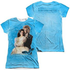 Labyrinth A Dream (Front Back Print) Short Sleeve Junior Poly Crew T-Shirt