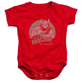 Hagar The Horrible Hagar Circle Infant Snapsuit Royal Blue