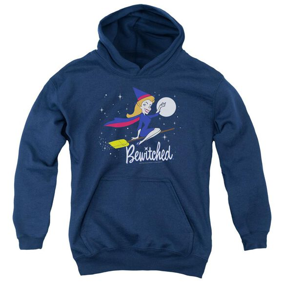 Bewitched New Moon Youth Pull Over Hoodie