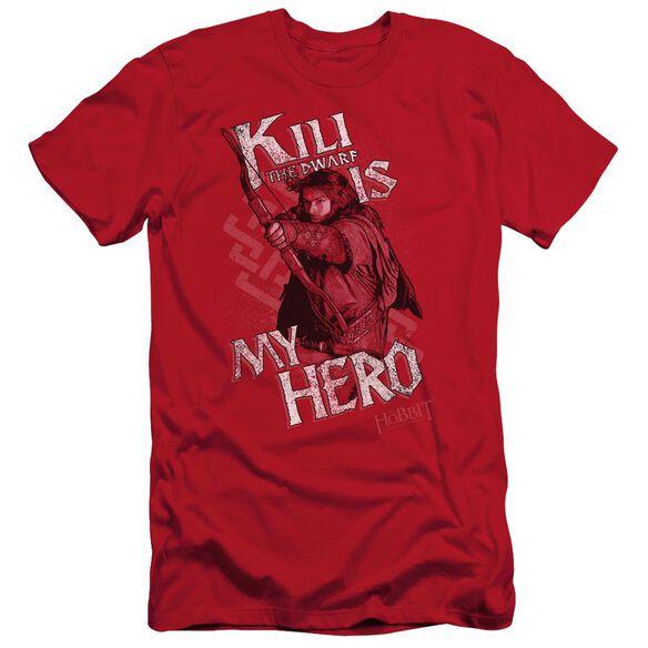 The Hobbit Kili Is My Hero Short Sleeve Adult T-Shirt