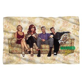 Married With Children Couch Trip Fleece Blanket