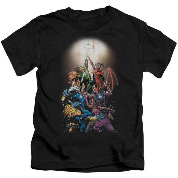 Green Lantern Gl New Guardians #1 Short Sleeve Juvenile Black T-Shirt