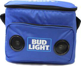 Bud Light Cooler Bag with Bluetooth Speaker