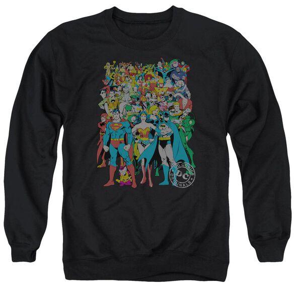 Dc Original Universe Adult Crewneck Sweatshirt