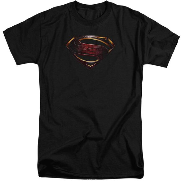 Justice League Movie Superman Logo Short Sleeve Adult Tall T-Shirt