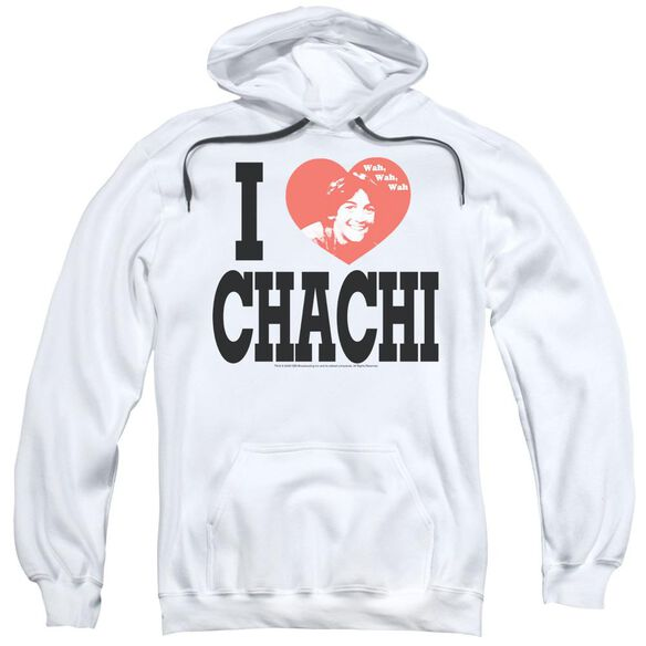 Happy Days I Heart Chachi Adult Pull Over Hoodie
