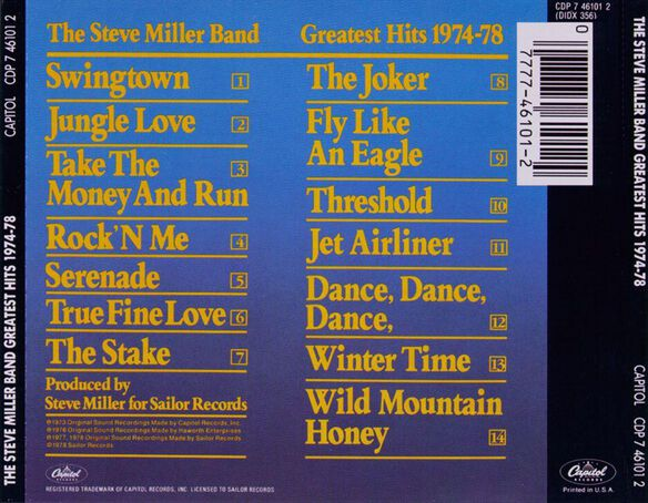 Greatest Hits: 1974 78