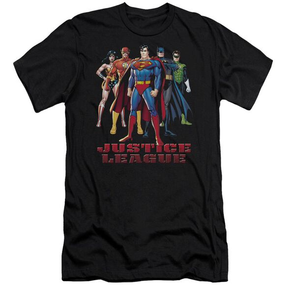 Jla In League Short Sleeve Adult T-Shirt