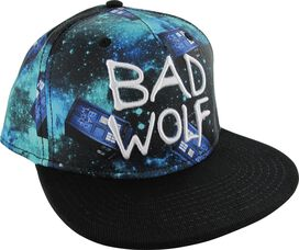 Doctor Who Bad Wolf Tardis All Over Snapback Hat