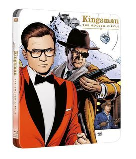 Kingsman: The Golden Circle [Blu-ray + DVD + Digital Steelbook]