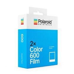 Image of Polaroid Originals Instant Color Film for 600 Double Pack [White]