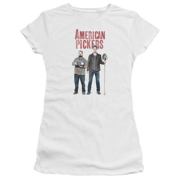 American Pickers American Profit Hbo Short Sleeve Junior Sheer T-Shirt