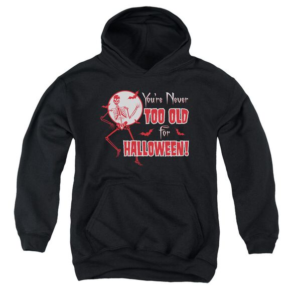 Never Too Old Youth Pull Over Hoodie