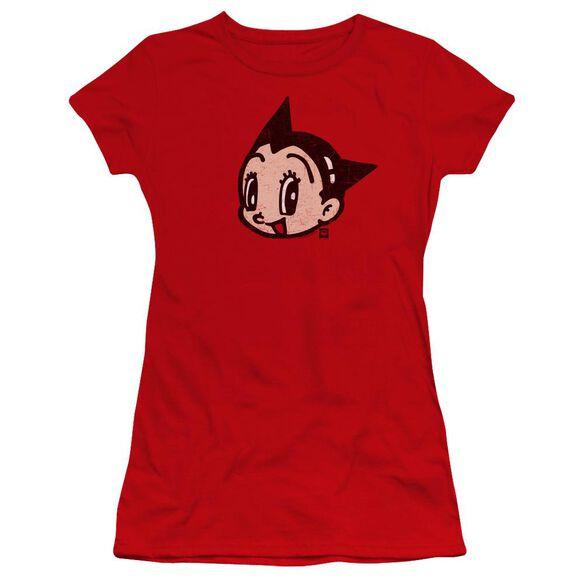 Astro Boy Face Premium Bella Junior Sheer Jersey