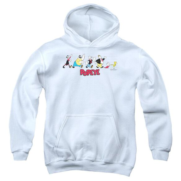 Popeye The Usual Suspects Youth Pull Over Hoodie
