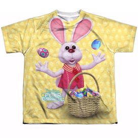 HERE COMES PETER COTTONTAIL BASKET OF EGGS-S/S YOUTH T-Shirt