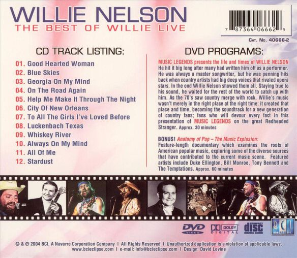 The Best Of Willie Live
