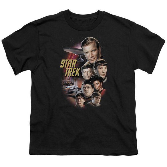 ST ORIGINAL THE CLASSIC CREW - S/S YOUTH 18/1 - BLACK T-Shirt