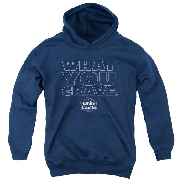 White Castle Craving Youth Pull Over Hoodie