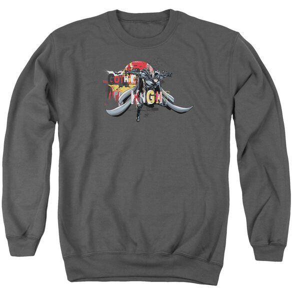 Dark Knight Rises Gothic Knight Adult Crewneck Sweatshirt