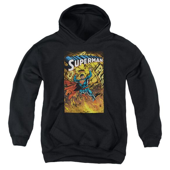 Superman One Youth Pull Over Hoodie