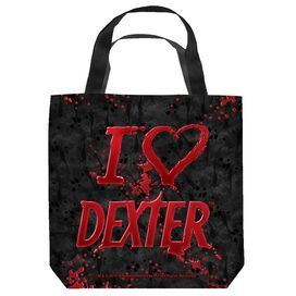 Dexter I Heart Dexter Tote