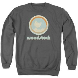 Woodstock Bird Circle Adult Crewneck Sweatshirt