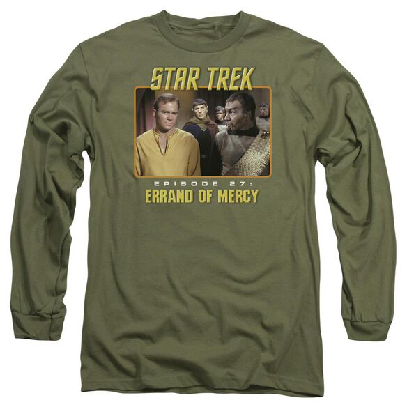 St Original Episode 27 Long Sleeve Adult Military T-Shirt