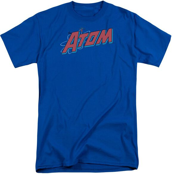 Dc The Atom Short Sleeve Adult Tall Royal T-Shirt