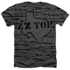 Zz Top Texas Branded Adult Heather