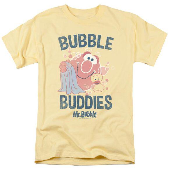 Mr Bubble Bubble Buddies Short Sleeve Adult T-Shirt
