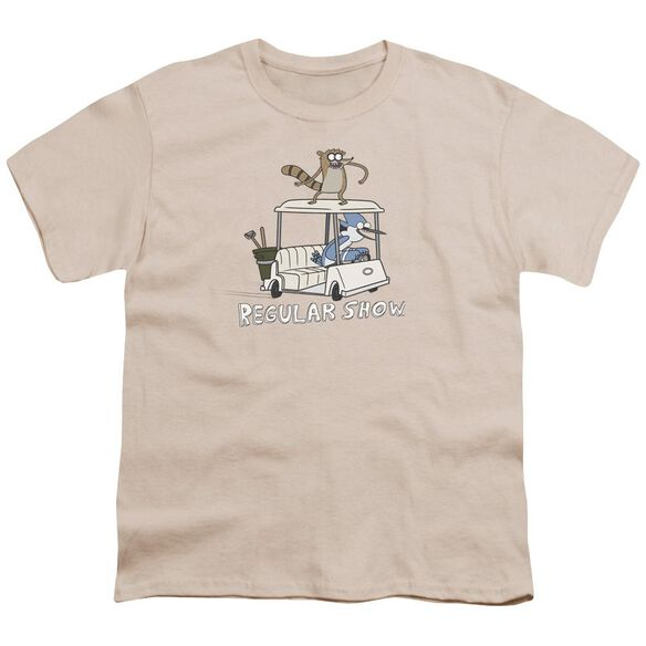 Regular Show Golf Cart Short Sleeve Youth T-Shirt