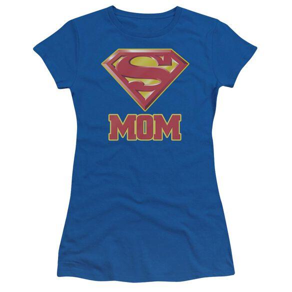 SUPERMAN SUPER MOM-S/S JUNIOR T-Shirt