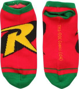 Robin Logo Low Cut Socks