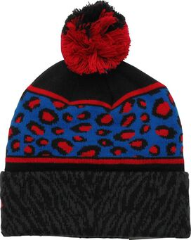 Captain America Animal Print Pom Beanie
