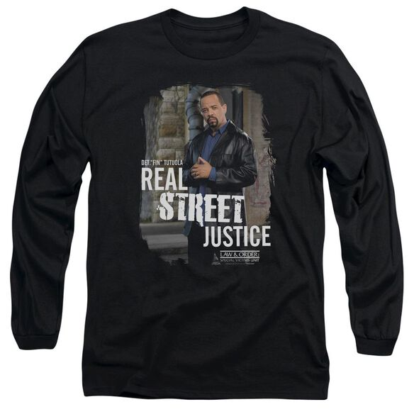 Law And Order Svu Street Justice Long Sleeve Adult T-Shirt