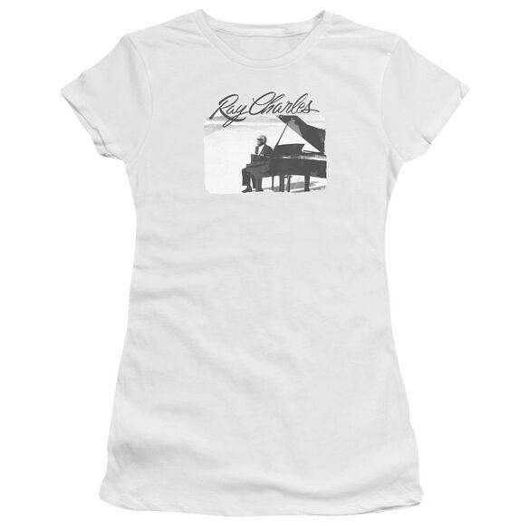 Ray Charles Sunny Ray Short Sleeve Junior Sheer T-Shirt