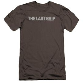 Last Ship Distressed Logo Premuim Canvas Adult Slim Fit