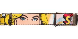Supergirl Face Mesh Belt