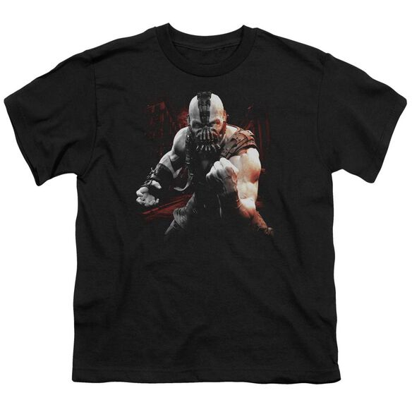 Dark Knight Rises Bane Battleground Short Sleeve Youth T-Shirt