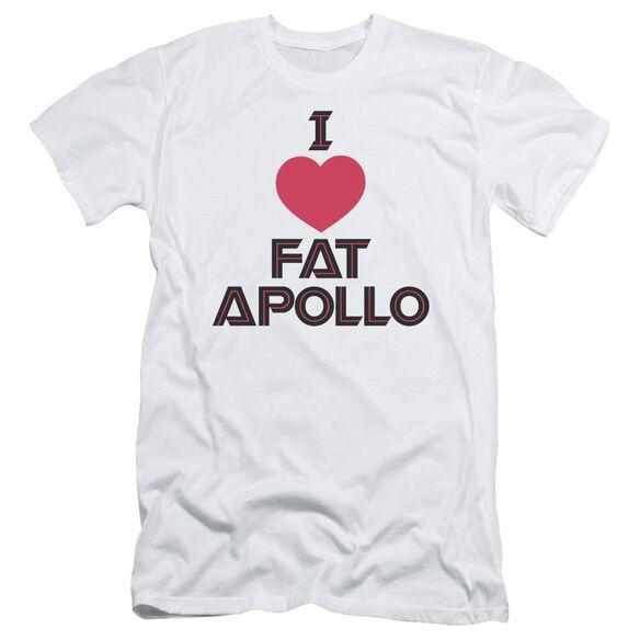 Bsg I Heart Fat Apollo Short Sleeve Adult T-Shirt