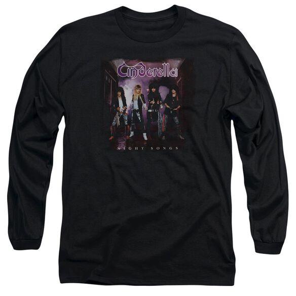 Cinderella Night Songs Long Sleeve Adult T-Shirt