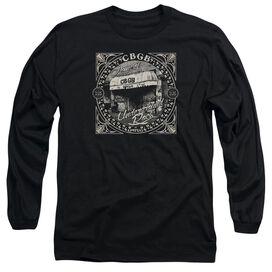 Cbgb Front Door Long Sleeve Adult T-Shirt