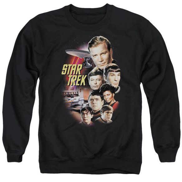 St Original The Classic Crew - Adult Crewneck Sweatshirt - Black